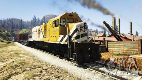 GTA 5 Engineer railway v3.1