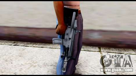 MK16 PDW Advanced Quality v2 for GTA San Andreas third screenshot