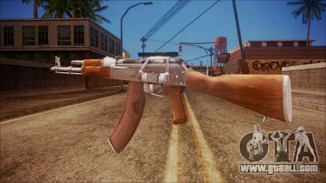 AK-47 v3 from Battlefield Hardline for GTA San Andreas second screenshot