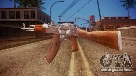 AK-47 v3 from Battlefield Hardline for GTA San Andreas second screenshot