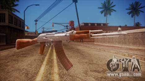 AK-47 v3 from Battlefield Hardline for GTA San Andreas
