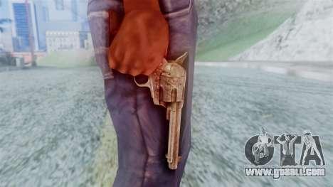 Red Dead Redemption Revolver Cattleman for GTA San Andreas third screenshot
