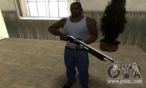 National Shotgun for GTA San Andreas third screenshot