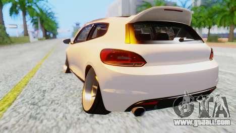 Volkswagen Scirocco for GTA San Andreas left view