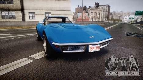 Chevrolet Corvette ZR1 1970 [EPM] for GTA 4