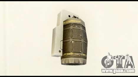 Grenade from Crysis 2 for GTA San Andreas