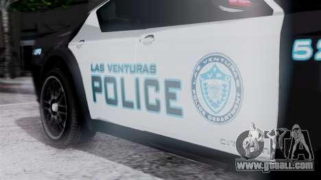 Hunter Citizen Police LV IVF for GTA San Andreas right view