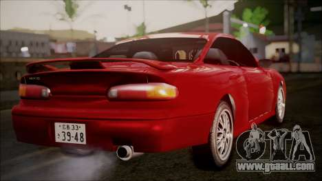 Mazda MX-6 (GE5S) for GTA San Andreas right view