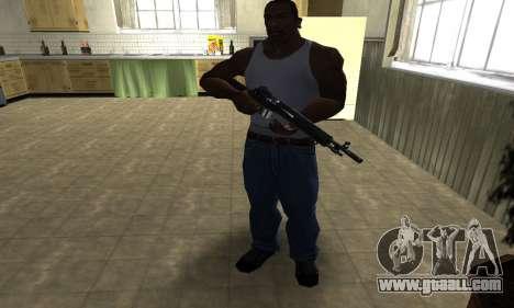 Modern Black Rifle for GTA San Andreas third screenshot