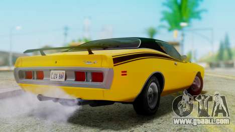 Dodge Charger Super Bee 426 Hemi (WS23) 1971 for GTA San Andreas left view