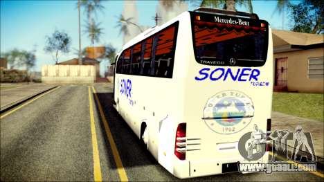 Mercedes-Benz Travego Soner Turizm for GTA San Andreas left view