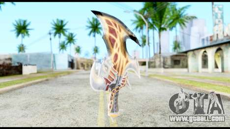 God Of War Blade of Exile for GTA San Andreas second screenshot