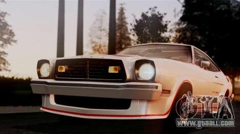 Ford Mustang King Cobra 1978 for GTA San Andreas