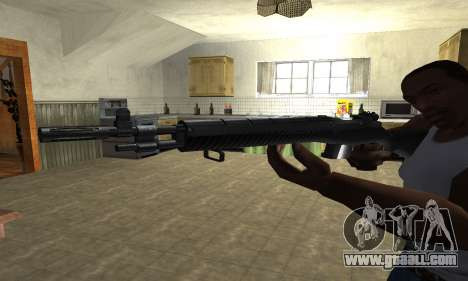 Modern Black Rifle for GTA San Andreas second screenshot