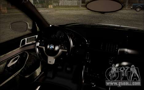 BMW M5 E39 E-Design for GTA San Andreas right view