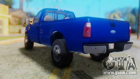 Ford F-350 Super Duty Regular Cab 2008 HQLM for GTA San Andreas left view