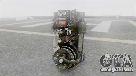Ghostbuster Rucksack for GTA San Andreas