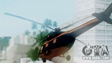 PZL W-3A Sokol for GTA San Andreas left view