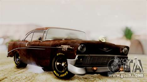 Chevrolet Bel Air 1956 Rat Rod Street for GTA San Andreas