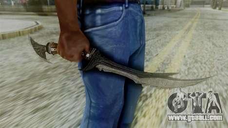 Deadric Dagger for GTA San Andreas third screenshot