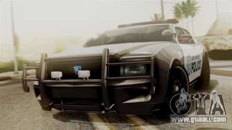 Hunter Citizen from Burnout Paradise Police LS for GTA San Andreas