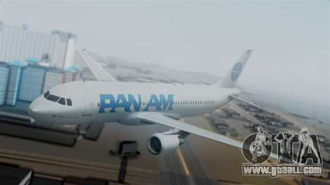 Airbus A320-200 Pan American World Airlines for GTA San Andreas