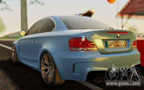 BMW 1M E82 for GTA San Andreas left view
