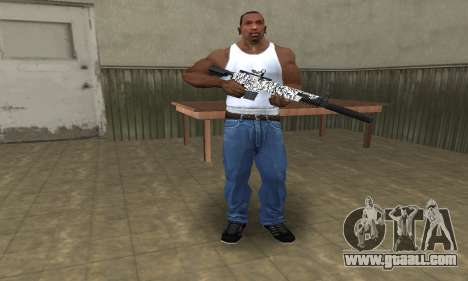 Black Lines Rifle for GTA San Andreas third screenshot
