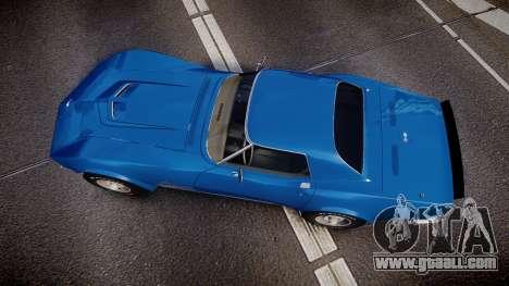 Chevrolet Corvette ZR1 1970 [EPM] for GTA 4 right view