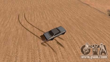 Offroad Effect for GTA San Andreas third screenshot