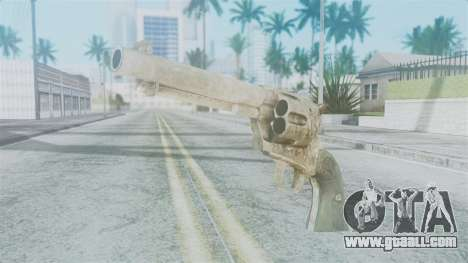 Red Dead Redemption Revolver Sergio for GTA San Andreas