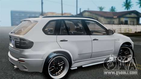 BMW X5M 2014 E-Tuning for GTA San Andreas right view