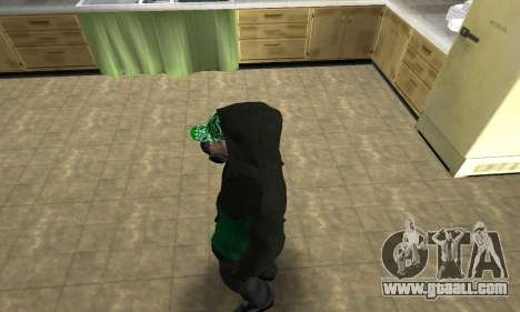 Fam White for GTA San Andreas third screenshot