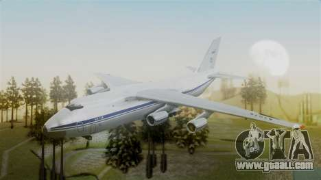 Antonov 124 for GTA San Andreas