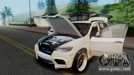 BMW X5M 2014 E-Tuning for GTA San Andreas inner view