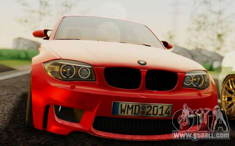 BMW 1M E82 for GTA San Andreas right view