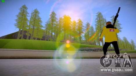 Supr3me Skin for GTA San Andreas forth screenshot