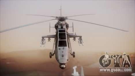 Harbin WZ-19 for GTA San Andreas right view