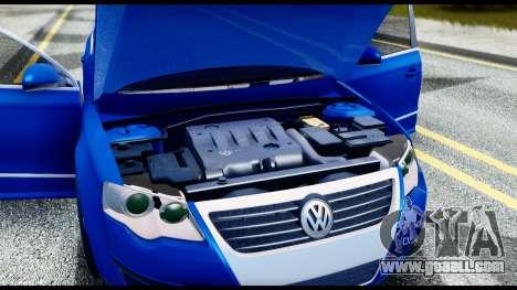 Volkswagen Passat B6 for GTA San Andreas inner view