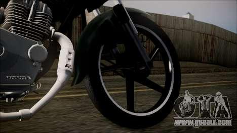 Zanella RX150 Planchada for GTA San Andreas back left view