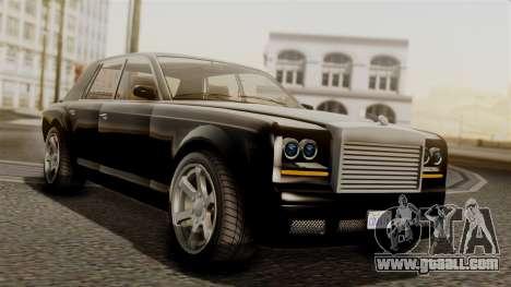 GTA 5 Enus Super Diamond for GTA San Andreas