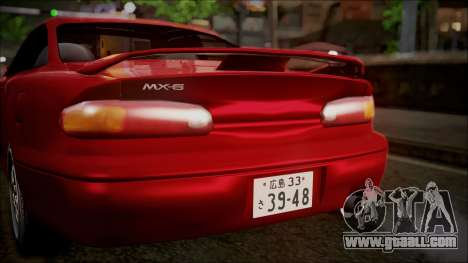 Mazda MX-6 (GE5S) for GTA San Andreas side view