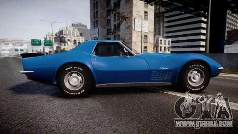 Chevrolet Corvette ZR1 1970 [EPM] for GTA 4 left view