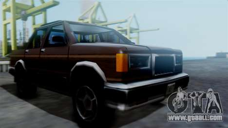 Landstalker Pickup for GTA San Andreas