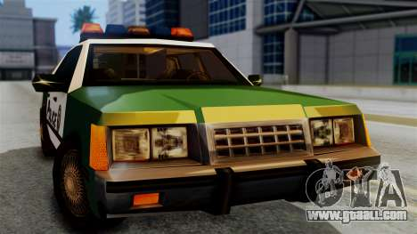 SAPD Cruiser for GTA San Andreas right view