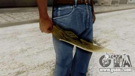 Elven Dagger for GTA San Andreas third screenshot