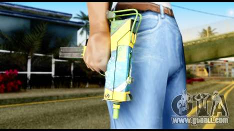 Brasileiro Micro Uzi for GTA San Andreas third screenshot