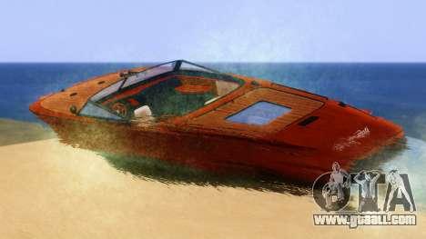 Lampadati Toro for GTA San Andreas left view