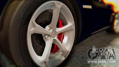 Chevrolet Corvette Sport for GTA San Andreas right view