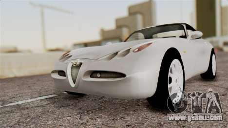 Alfa Romeo Nuvola for GTA San Andreas